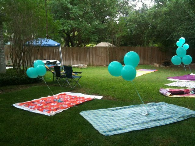 Tips For Outdoor Party