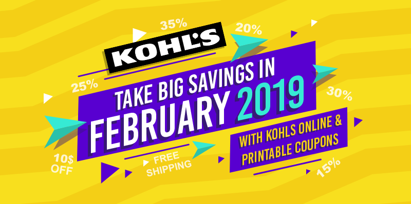 Kohls Coupon Codes February 2020