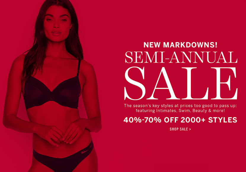 Victoria's Secret PINK Semi Annual Sale