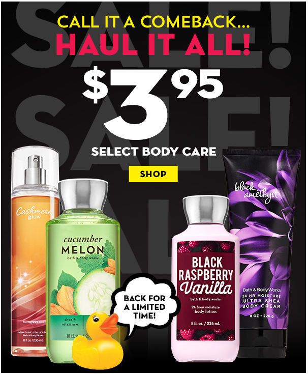 Body Care Promotion