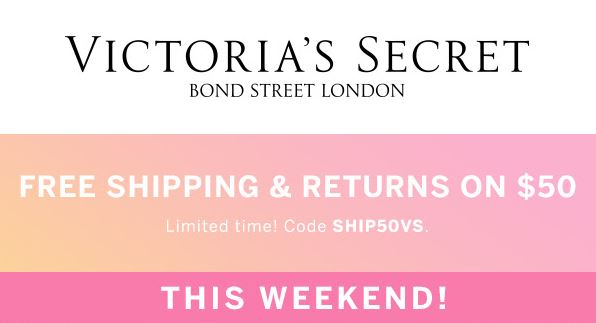 Victoria's Secret Free Shipping Offer Code